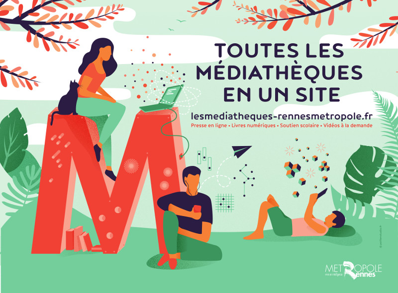 logo les mediatheques
