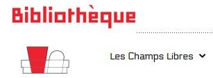 Logo Mediatheque Les Champs Libres